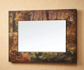 Cabin Place: $50 Off Fall Whitetail Rectangular Scenic Mirror