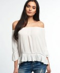 Superdry: Women's Folk Dream Blouse For $34.50