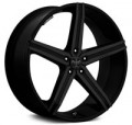 "AudioCityUSA: 22""24"" Versante Wheels Rims VT228 Black For Charger 300C Challenger For $899"