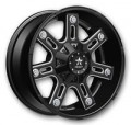 "AudioCityUSA: 20"" RBP Wheels 97R Black Milled Off Road Rims For $1299 & Free Shipping"