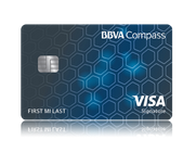 BBVA Compass Bank: More Perks, Savings, And Special Opportunities Card : Visa Signature Credit Card