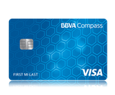 BBVA Compass Bank: Easy-to-earn Rewards Card: BBVA Compass ClearPoints Credit Card