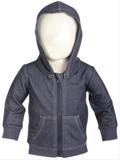 Netshirt: 40% Rabatt På Marinblå Hoodjacka Denim Baby