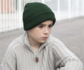 JKL Clothing: Result Winter Essentials Children's Heavy Knit Wooly Ski Hat