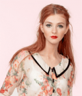 Alice's Pig: £20 Off 1960s Cropped Flower Blouse