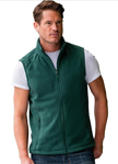 JKL Clothing: Russell Men's Outdoor Fleece Bodywarmer
