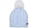 Kids Cavern: Trestelle AW16 Girls Blue Bobble Hat T16 140 For £50