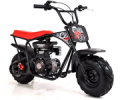 Fun Bikes: Baja Big Wheel Black 80cc 59cm All Terrain Kids Sand Bike