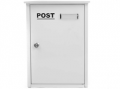 The House Nameplate Company: Campagne White Letterbox