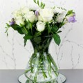 Sassy Bloom: Glass Vase For £32.99