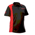 Red Dragon Darts: Winmau WinCool 2 Black & Red Dart Shirts