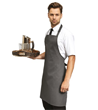 JKL Clothing: Premier 100% Polyester Adjustable Bib Apron