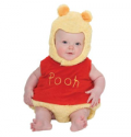 Little Ratbag: Winnie The Pooh Disney Baby Tabard With Feature Hat For £18