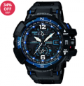 Chapelle Jewellery: 34% Off Casio G-Shock Premium Black And Blue Radio Controlled Watch GW-A1100FC-1AER