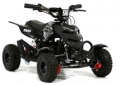 Fun Bikes: 800w Black Electric Kids Mini Quad Bike