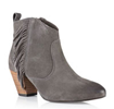 Superdry: Women's Louisiana Fringed Ankle Boots For $99.50