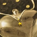 Argent Of London: Gold Vermeil Star Necklace (4627)
