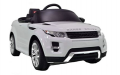 Fun Bikes: Range Rover Licenced Evoque White Electric Ride On 4X4 SUV