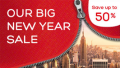 Hotels.com: 50% Off Big Year Sale