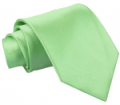 DQT: Plain Lime Green Satin Tie £7.99