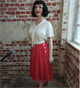 The Seamstress Of Bloomsbury: Isabelle Skirt For £49