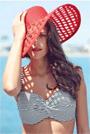 Envie4u: 34% Off Panache Anya Stripe Bandeau Bikini Top