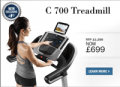NordicTrack: 50% Off C700 Treadmill