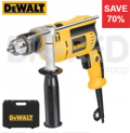 Big Red Toolbox: 70% Off Dewalt D024k Percussion Drill + Kitbox