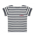 Bernard Boutique: Maison Labiche 'Sunshine' Striped T-Shirt