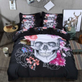 SCtrending: 3D Skull Bedding Sets