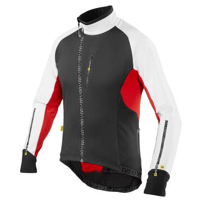 Slane Cycles: 38% Off MAVIC ECHAPPEE JACKET BLACK WHITE + Free Shipping